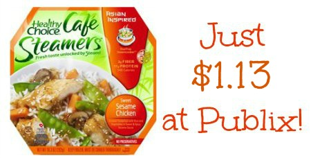 Healthy Choice Cafe Steamers Publix 2 Healthy Choice Coupon To Match Publix Coupon & Sale (+ Rebate Eligible)