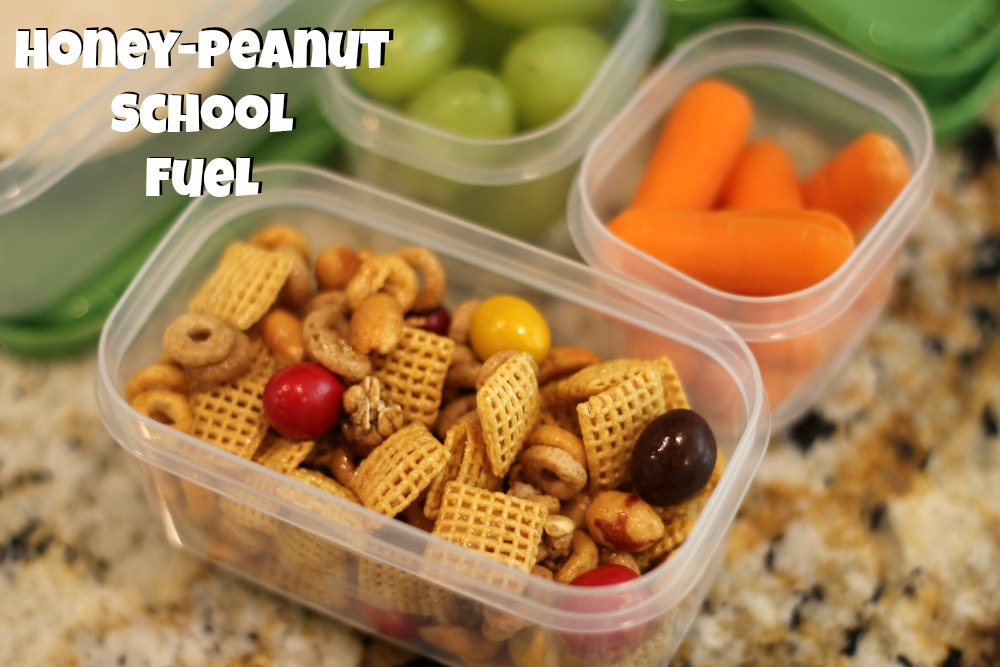 Honey Peanut School Fuel Honey Peanut School Fuel Recipe For Chex™ BOGO Sale + $40 @Publix Gift Card Giveaway