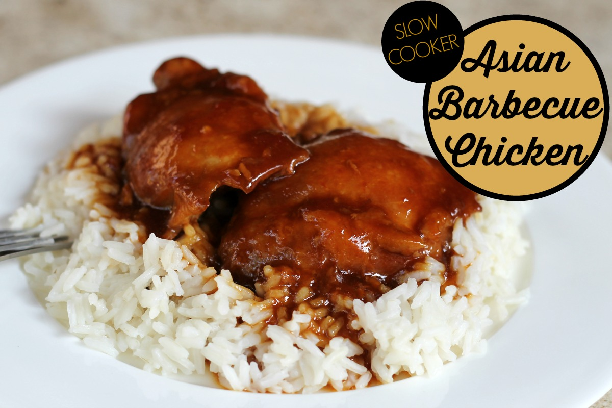 Slow Cooker Asian Barbecue Chicken Slow Cooker Asian Barbecue Chicken