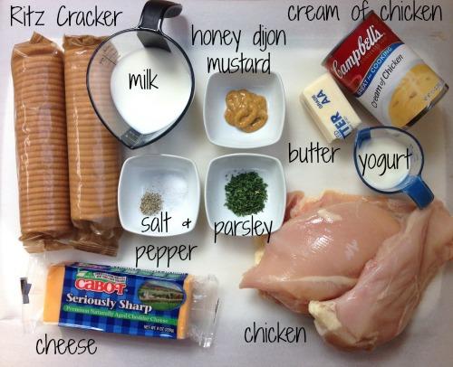 cxn ingr Crispy Cheddar Chicken