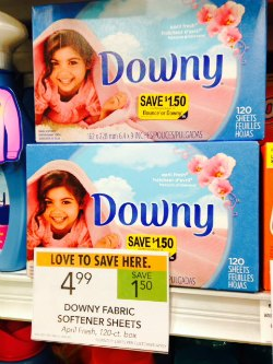 downy peelie Look For Coupons Around The Store To Save Big!