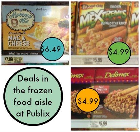 frozen publix Nice Deals In The Frozen Food Aisle At Publix   Cheap Snacks!
