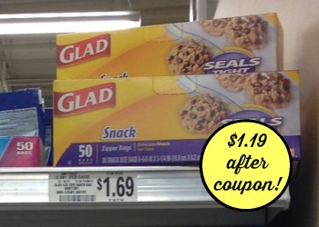 glad snack publix Nice Deal On Glad Snack Bags At Publix