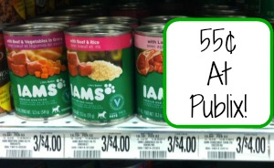 iams Iams Wet Dog Food For 55¢ + More Iams Deals At Publix