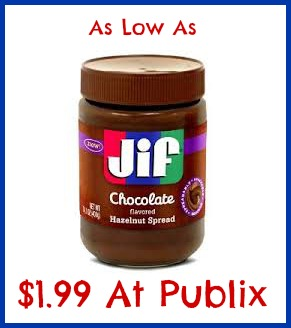 jif Nice Price On Jif Hazelnut Spread At Publix