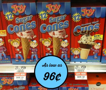 joy cones publix Cheap Joy Cones At Publix   Sale & Coupons!