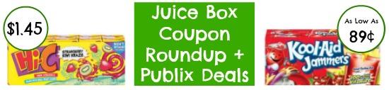 juice Two New Juice Box Coupons + Publix Deals