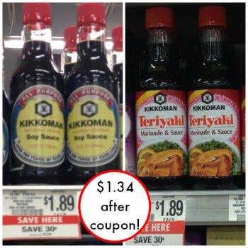 kikkoman publix Nice Deal On Kikkoman Teriyaki or Soy Sauce At Publix