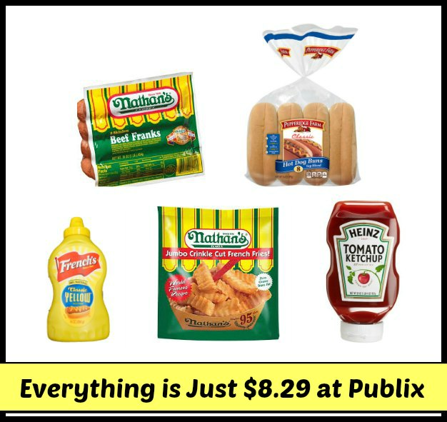 labor day cookout publix 2 Labor Day Cookout   Everything For Just $8.29 At Publix