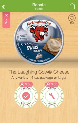 laughing cow ibotta New Ibotta Offers   Milk, Laughing Cow & More