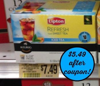 lipton publix Lipton K Cup Coupon & Deal At Publix