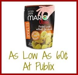 mario Reminder   Cheap Mario Snack Olives At Publix