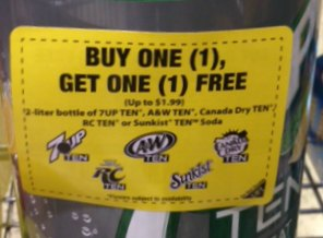 peelie 7up Look For Coupons Around The Store To Save Big!