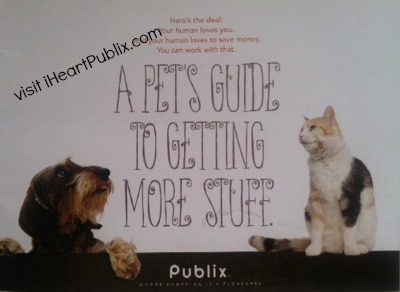 "pet booklet publix ""A Pets Guide To Getting More Stuff"" Pet Coupons Now Available To Print"