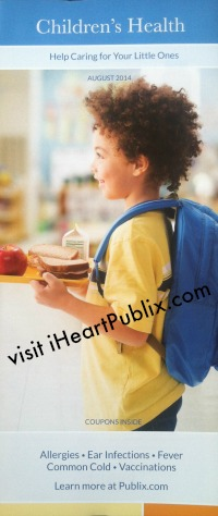 pharmacy booklet August Publix Pharmacy Booklet   Childrens Health