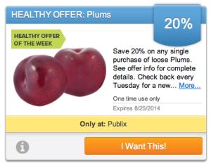 publix plums
