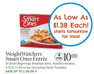 smart ones Smart Ones Target Coupon For Our Publix Sale