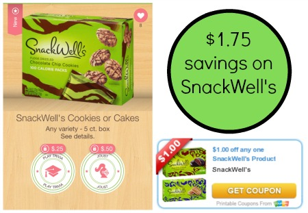 snackwells publix  New SnackWells Ibotta Offers + Matching Coupon = $1.75 Savings!