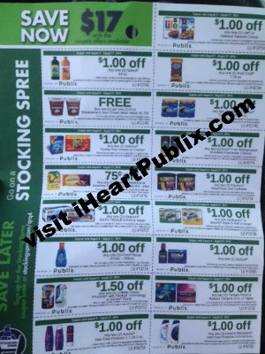 stocking spree publix New Stocking Spree Coupon Sheet With Nice Publix Coupons