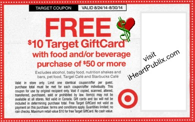 target coupon1 Fantastic Target Coupon Coming This Weekend