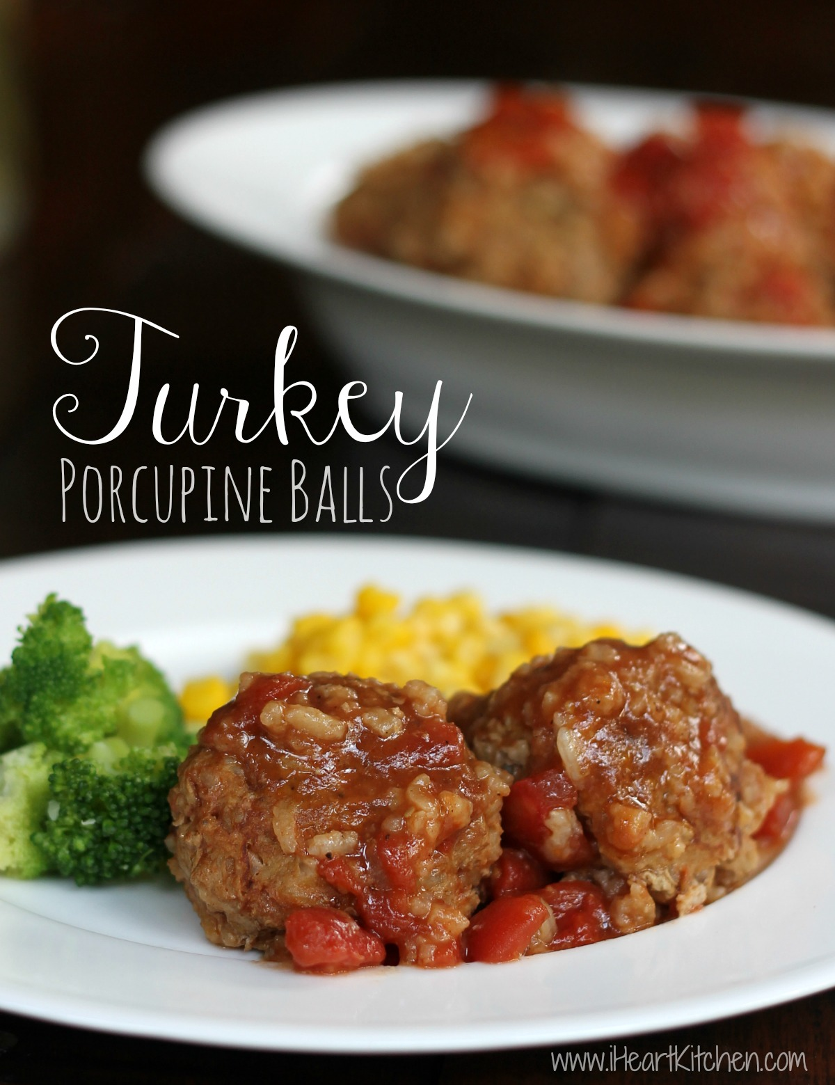 Turkey Porcupine Balls