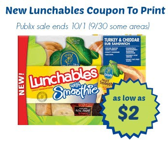 Lunchables printable coupon to print