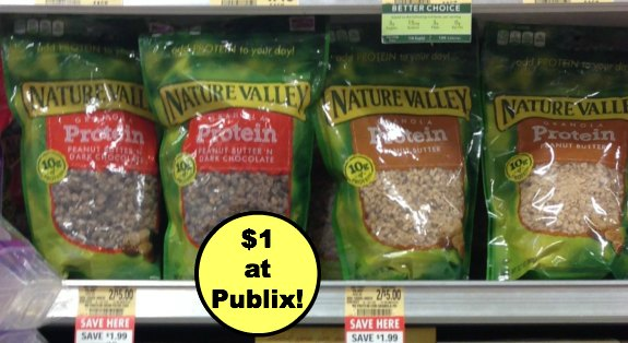 nature valley granola 2 Great Deal On Nature Valley Protein Granola At Publix