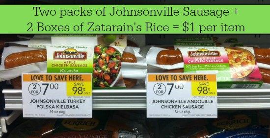publix deal sausage & rice