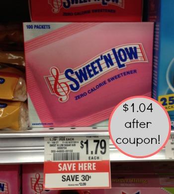 swwet n low publix Great Deal On SweetN Low At Publix   Sale & Coupon!