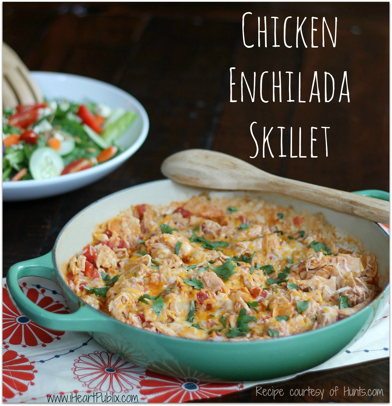 Chicken-Enchilada-Skillet-