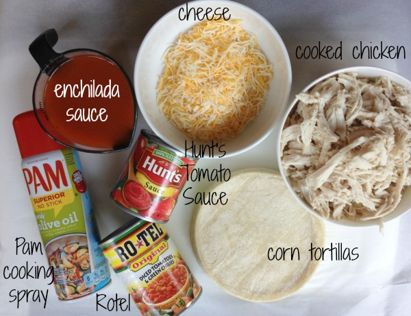 Chicken Enchilada Skillet Ingredients