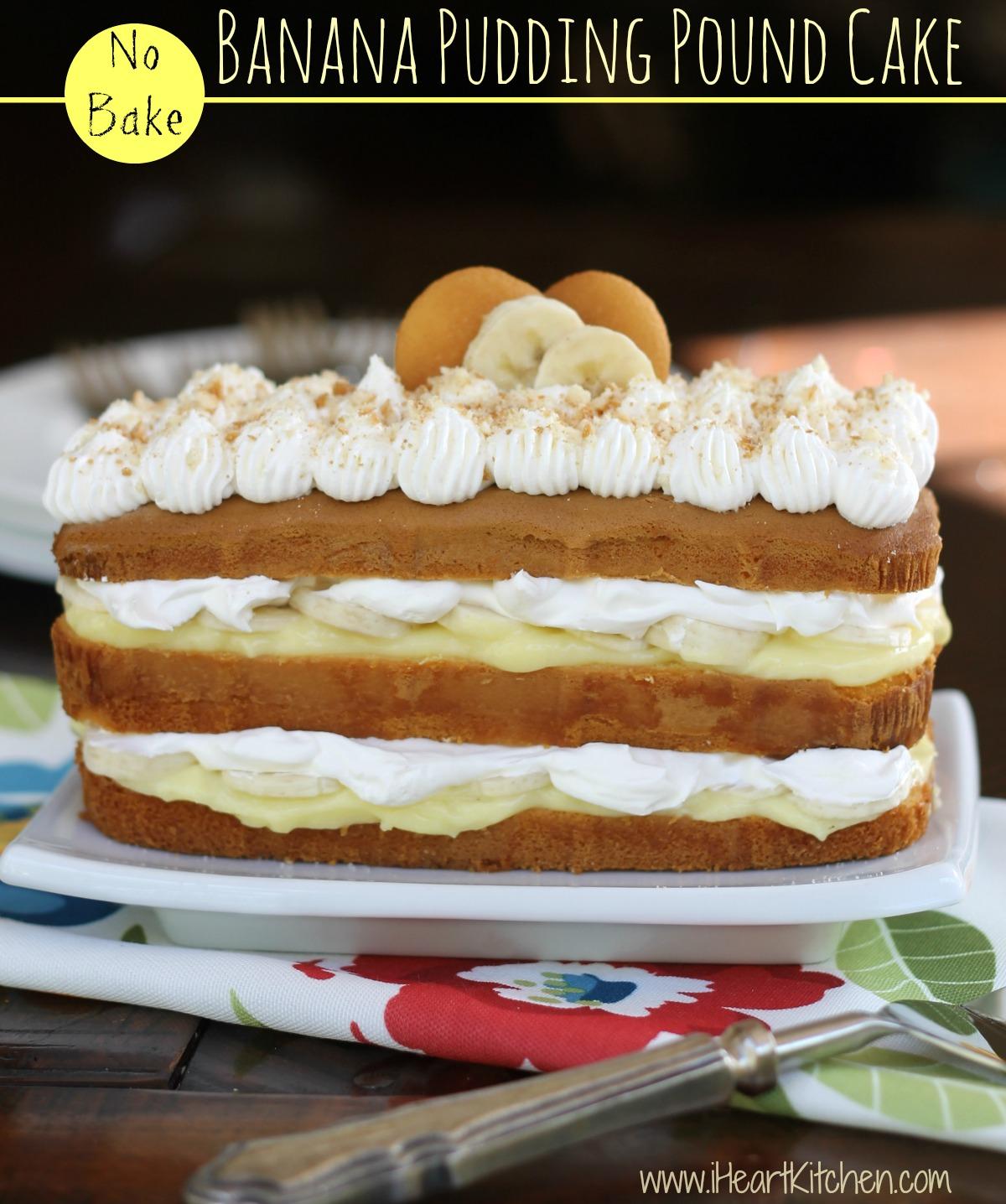 No-Bake-Banana-Pudding-Pound-Cake