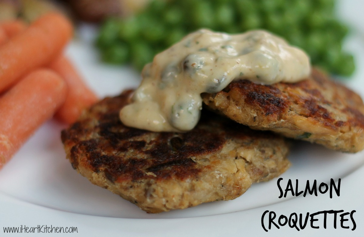 Image Gallery Salmon Croquettes