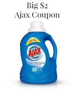 New $2 Ajax Coupon To Print
