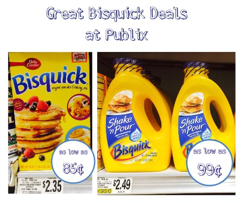 Bisquick Deal - As Low As 85¢ at Publix!