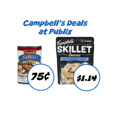 Campbell's Deals to Go With Our Publix Coupons