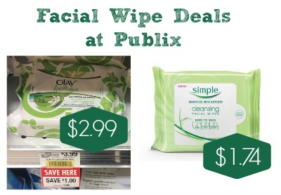 Nice Facial Wipe Deals at Publix - As Low As $2.74