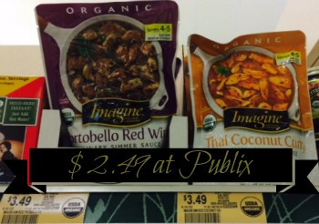 Nice Deal on Imagine Simmer Sauces at Publix