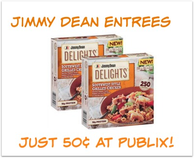 Jimmy Dean Entrees Just 50¢ - Don't Forget To Print!