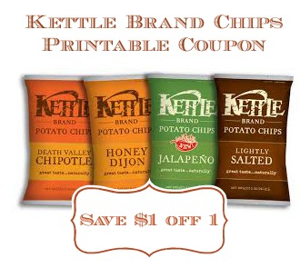Kettle Brand Chips Coupon To Print and Publix Deal