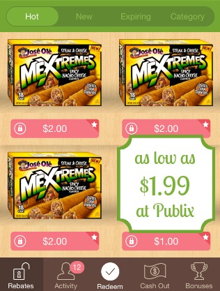 Jose Ole Mextremes Deal at Publix - $1.99