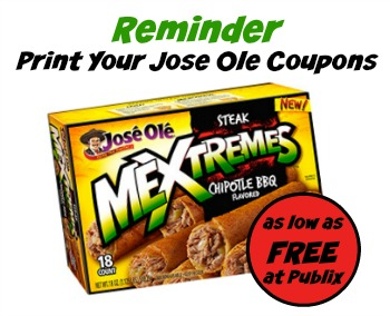 Jose Ole Snacks - Free & Cheap At Publix