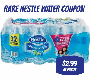 c0adabc214 Rare Nestle Pure Life Water Coupon To Print - Just $2.99 at Publix