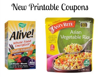 New Printable Coupons - High Value Alive! & More