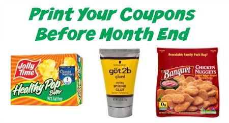 Grab Your Printable Coupons Before End Of The Month