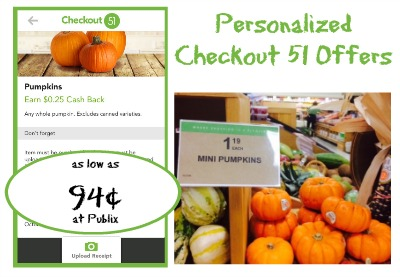 Personalized Checkout 51 Offers - Pumpkins, Tomatoes and More