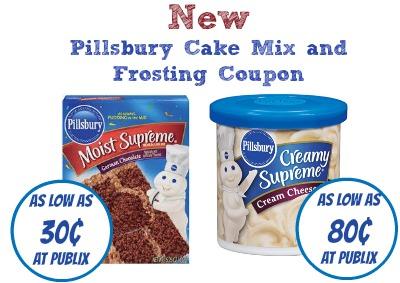 Pillsbury cake mix coupons 2018