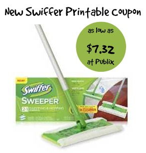 New Swiffer Starter Kit Coupon To Go With Upromise & P&G Pink Offers