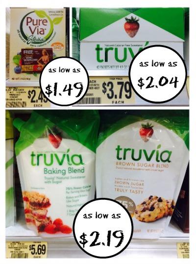 Pure Via and Truvia Deals at Publix