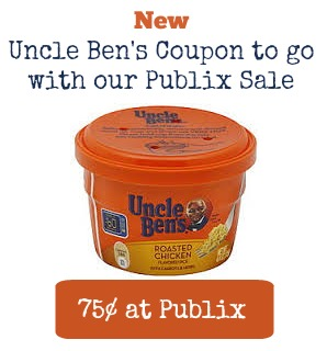 New Uncle Ben's Rice Coupon To Go With Our Publix Sale